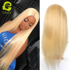 Ghairs Brazilian human hair full lace wig straight #613