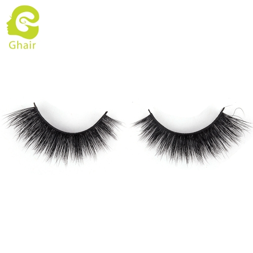 GHAIR 3D Mink Lashes Scorpio Style 100% Mink Fur Handmade False Eyelashes