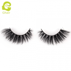 GHAIR 3D Mink Lashes Gemini Style 100% Mink Fur Handmade False Eyelashes