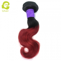 Special Offer | 1B/Red# 10Inch 3 bundles body wave 100% virgin human hair  bundle