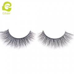 GHAIR 3D Mink Lashes Leo Style 100% Mink Fur Handmade False Eyelashes