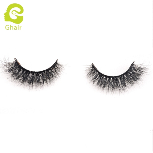 GHAIR 3D Mink Lashes Aries Style 100% Mink Fur Handmade False Eyelashes