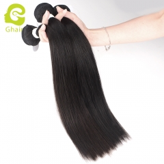 GHAIR Celebrity hair collection 1 bundle straight cuticle aligned single donor hair