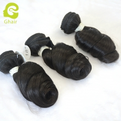GHAIR Celebrity hair collection 1 bundle loose wave cuticle aligned single donor hair