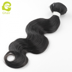 GHAIR Celebrity hair collection 1 bundle body wave cuticle aligned single donor hair