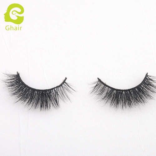 GHAIR 3D Mink Lashes Hestia Style 100% Mink Fur Handmade False Eyelashes