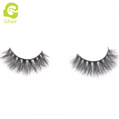 GHAIR 3D Mink Lashes Hera Style 100% Mink Fur Handmade False Eyelashes