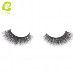 GHAIR 3D Mink Lashes Gaea Style 100% Mink Fur Handmade False Eyelashes
