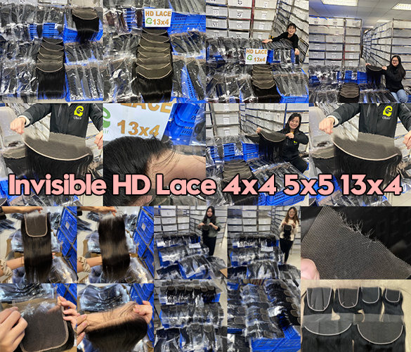 Invisible HD Lace 4x4 5x5 13x4